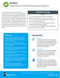 Portfini Sales Brochure